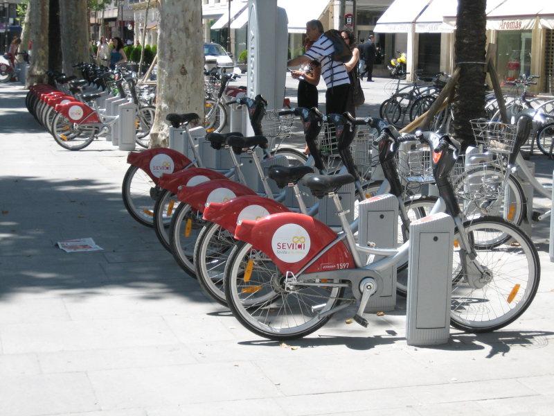 Sevici Bikes, Seville
